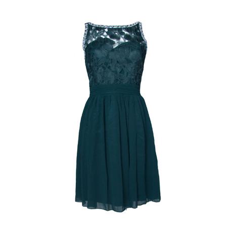 Short Dark Green Dress