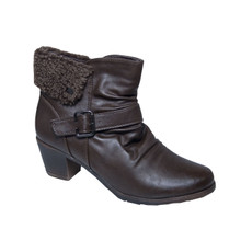 Exquily Warm Lined Side Zip Ankle Boot