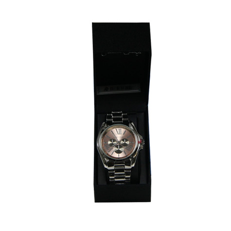 Jessica Carlyle steal watch with classic Roman numeral hour markers