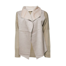 Stella Morgan Beige Fur Collar Jacket