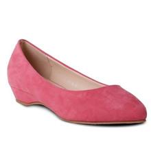 Belle Star Pink Low Wedge Slip-on Shoe