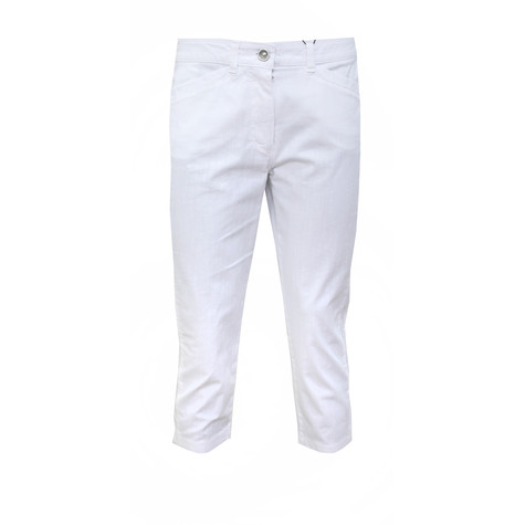 Bianca Denver White 3/4 Length White Jeans