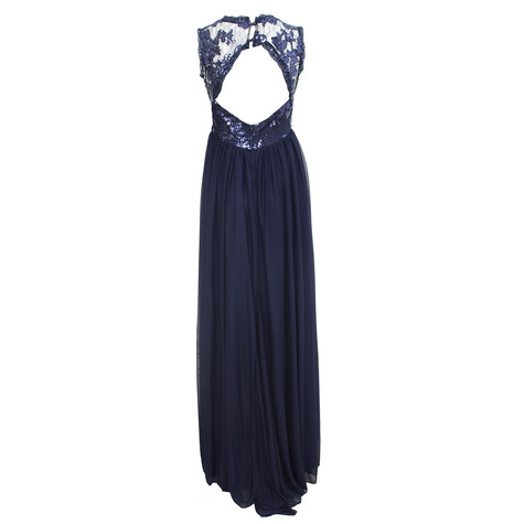 My Michelle Navy Lace Dress
