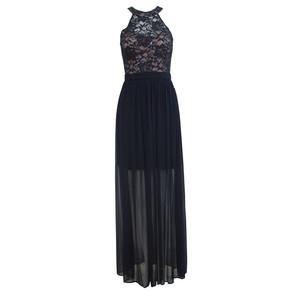 Morgan & Co Navy Lace Dress