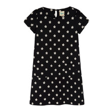 Yumi Girls Daisy Print Shift Dress
