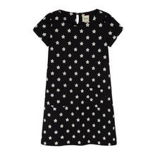 Yumi Girls Daisy Print Shift Dress