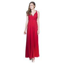 Ravon Red Long Transformer Dress