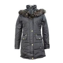 Twist Black Winter Coat