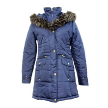 Twist Navy Winter Coat