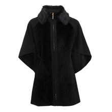 SophieB Black Fun Fur Winter Coat