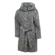 SophieB Grey Dalmatian Pattern Winter Coat