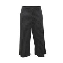 Twist Antracite Stripe Culottes