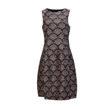 Zapara Brocade Antique Pin Dress