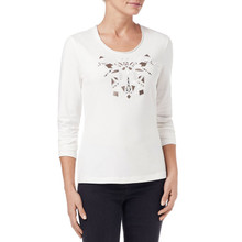 Gerry Weber Jewel Detail Long Sleeve Top