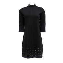 Zapara Black Turtle Neck Dress