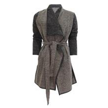 SophieB Taupe Lurex Cardi Knit