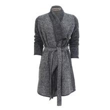 SophieB Grey Lurex Cardi Knit