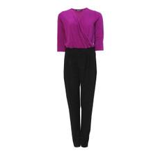 SophieB Pink & Black Sparkle Jumpsuit