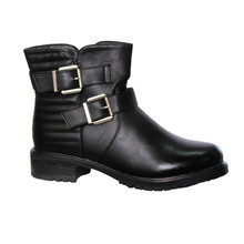 Jin Ma Black Padded Ankle Boot