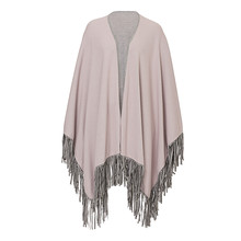 Betty Barclay Beige Fade Trim Cape