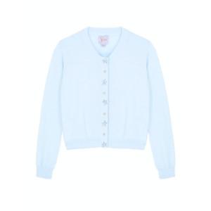 Yumi Girls Girls Embellished Button Cardigan