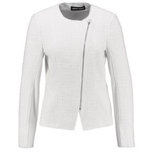 Gerry Weber White Zip Up Casual Blazer