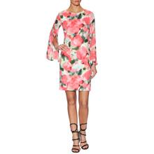 Donna Ricco Split Floral Sheath Dress