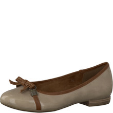 Marco Tozzi Nude Patent Comfort Pump