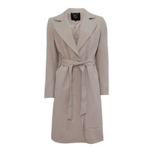 IOS Beige Waist Belt Trench Coat