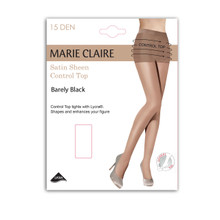 Marie Claire 15 Denier Barely Black