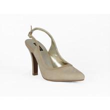 Jaclin Camel Sling Back Court Shoe