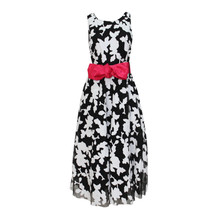Zapara 1950's Style Black & Cream Dress