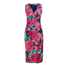 Zapara Fushia Summer Flow Dress