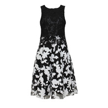 Zapara Black & Cream Dress