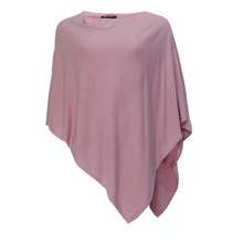 Twist Soft Touch Pink Poncho