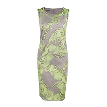 Bianca Sleeveless Floral Pattern Dress