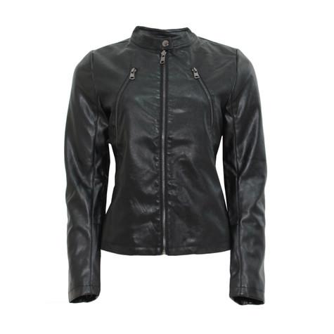 Leather jacket jo