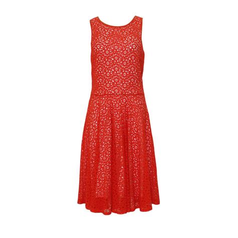 714303f95d Zapara Coral Lace Skater Dress