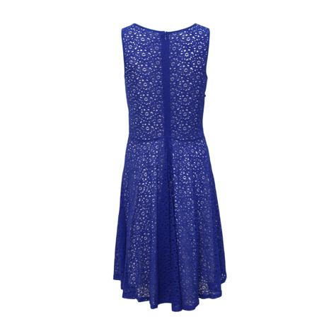 1b44389833 Zapara Blue Lace Skater Dress
