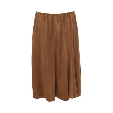 SophieB Cognac Swing Skirt