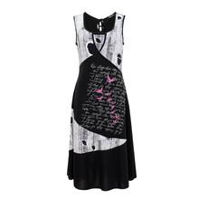 SophieB Black & Silver Long V-Neck Dress