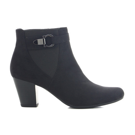 CORTINA Black Chelsea Ankle Boot