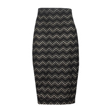 Zapara Beige & Black Strip Skirt
