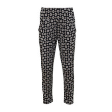 SophieB Black Circle Pattern Trousers