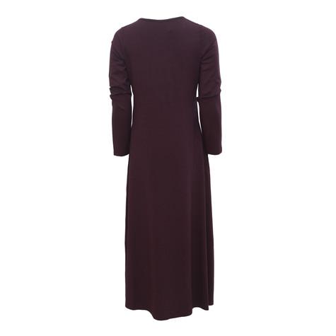 SophieB Dark Port Chiffon Panel Dress