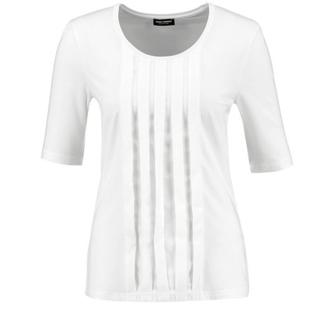Gerry Weber TOP WITH CHIFFON PLEATS AND 1/2-LENGTH SLEEVES