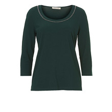 Betty Barclay Dark Round Neck Accessory Top
