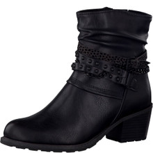 Marco Tozzi Black Ankle Boot