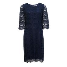 Zapara Navy Lace Dress