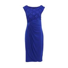 Connected Cobolt Lace Dress